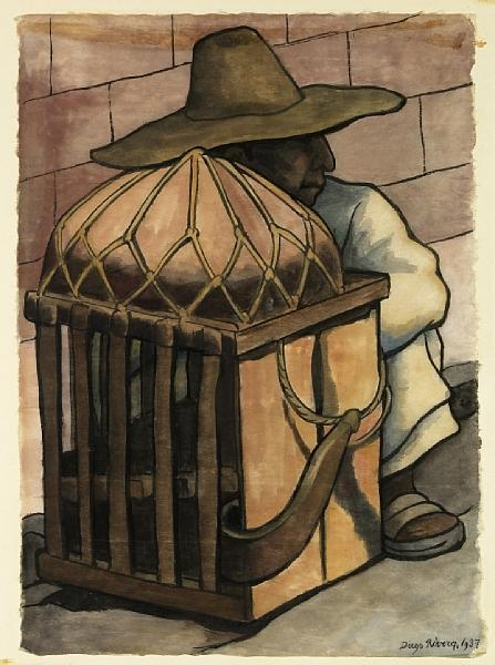Diego Rivera-Cargador descansando-1937