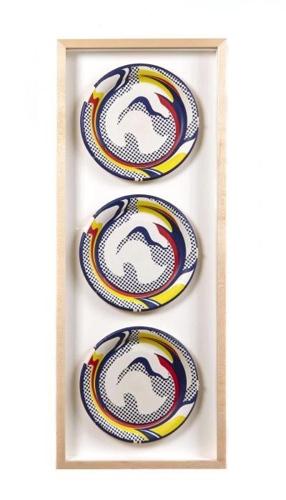 Roy Lichtenstein-Paper Plates-1969
