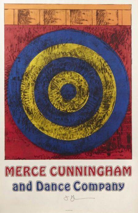 Jasper Johns-Merce Cunningham and Dance Company-1968