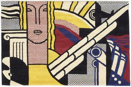 Roy Lichtenstein-Modern Tapestry-1979
