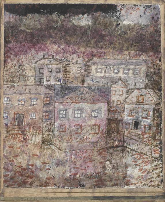 Paul Klee-Sudalpiner Ort-1923