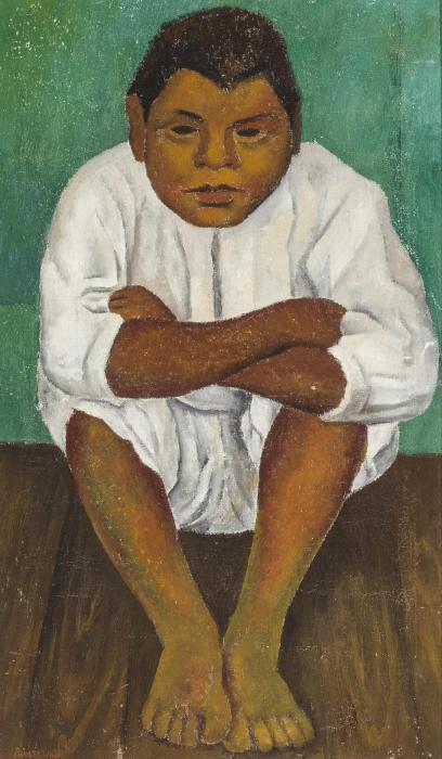 Diego Rivera-El amigo de Frida-1931
