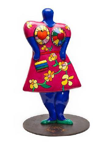Niki de Saint Phalle-Nana with Handbag-2000