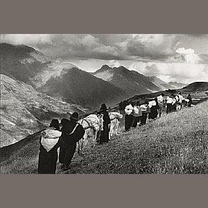 Sebastiao Salgado-Women Going to Market in Chimbote, Ecuador-1998
