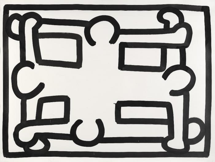 Keith Haring-Keith Haring - Untitled #13-1988