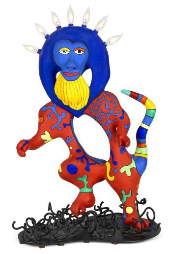 Niki de Saint Phalle-Babouin lampe-1990