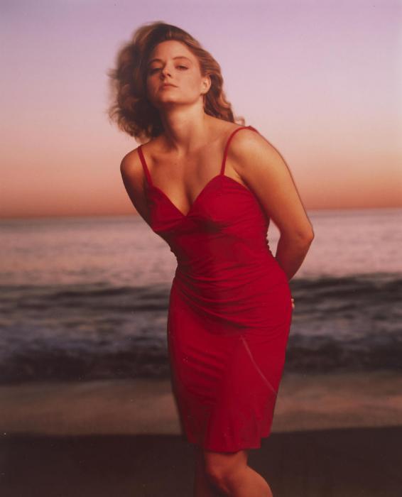 Annie Leibovitz-Jodie Foster, Malibu, California-1988