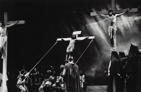 Helmut Newton-Christ On The Cross (1990)-1990