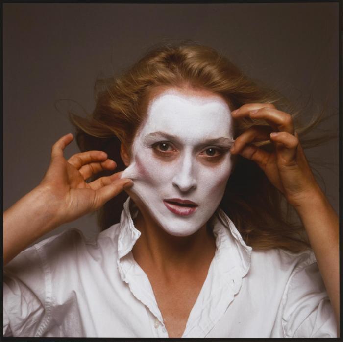 Annie Leibovitz-Meryl Streep, New York City-1981