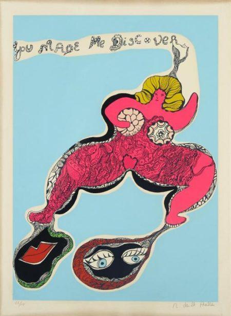 Niki de Saint Phalle-(i) You made me discover; (ii) My love where shall we make love (iii) I am a beautiful camel-1970