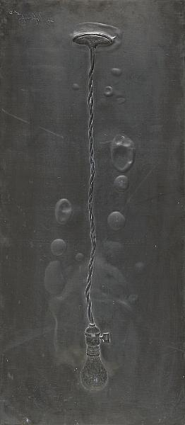 Jasper Johns-Light Bulb, from Lead Reliefs (ULAE 75)-1969