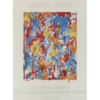 Jasper Johns-Daytons Gallery 12-1971