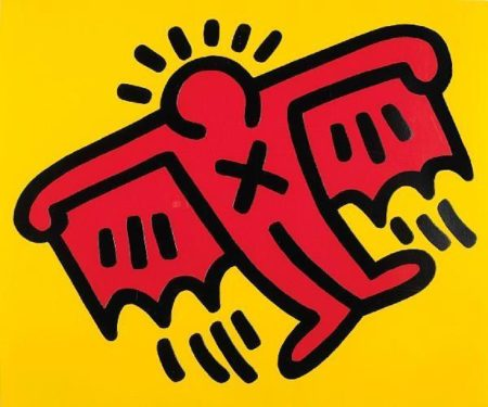 Keith Haring-Keith Haring - Untitled, from Icons-1990