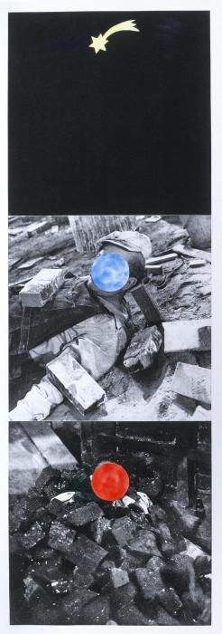 John Baldessari-Falling Star (C./H. 43)-1990