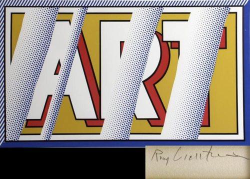 Roy Lichtenstein-Reflections: Art-1988