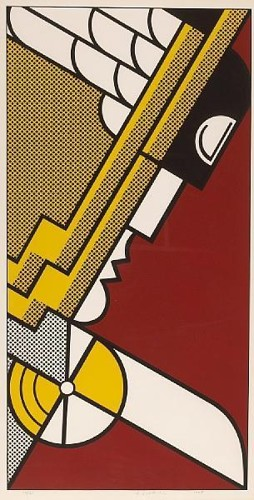 Roy Lichtenstein-Salute to Aviation-1968