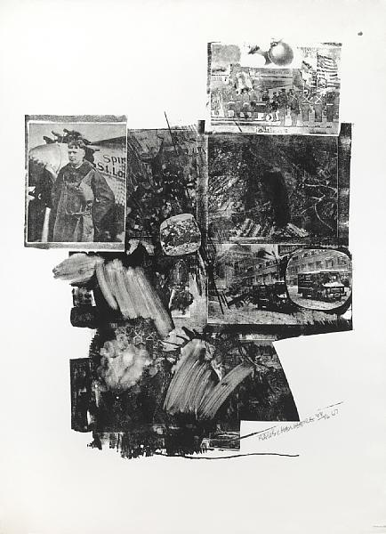 Robert Rauschenberg-Robert Rauschenberg - Booster and 7 Studies, from Test Stone #2-1967