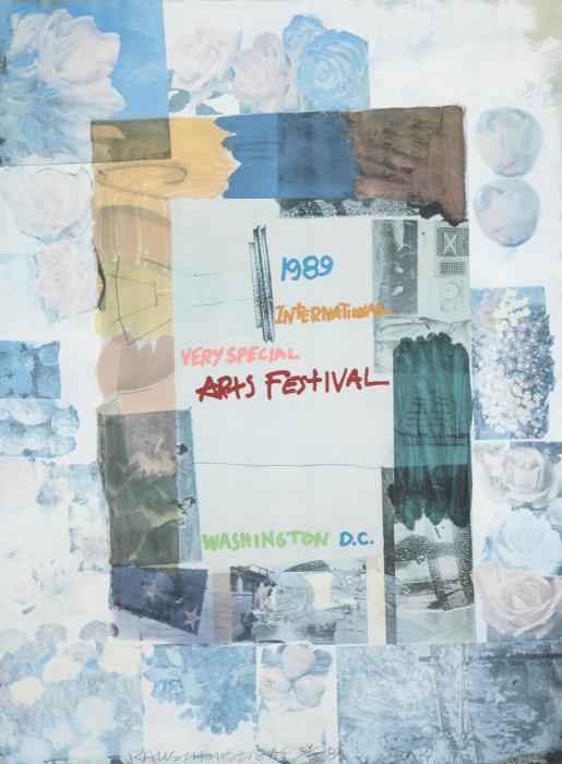 Robert Rauschenberg-Robert Rauschenberg - International Very Special Arts Festival, Washington D.C.-1989