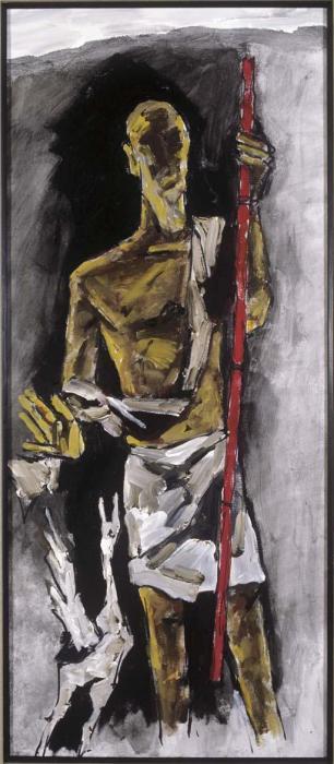 Maqbool Fida Husain-Prophetic Man-2005