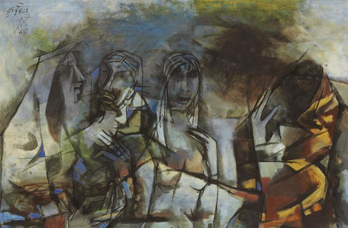 Maqbool Fida Husain-Untitled-1965