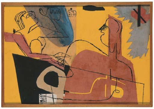 Le Corbusier-Komposition-1953