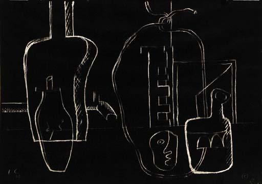 Le Corbusier-Stilleben-1962