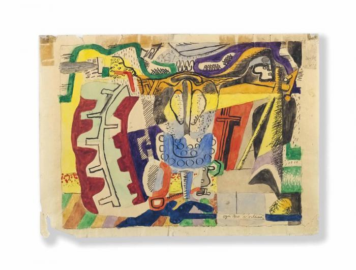 Le Corbusier-Ohne Titel-1940