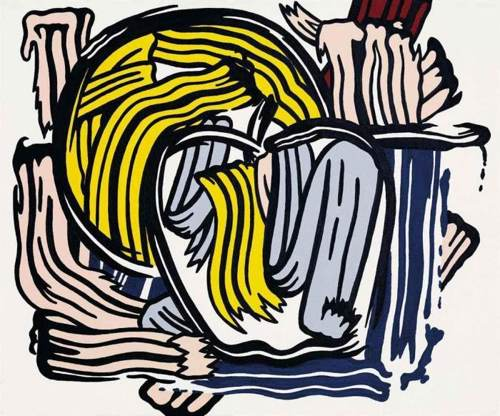 Roy Lichtenstein-Apple and Grapefruit-1980