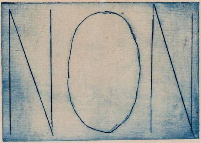 Marcel Duchamp-Non, planche issue de Premiere Lumiere (Schwarz 570)-1959