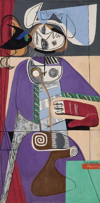 Le Corbusier-Taureau VII-1954