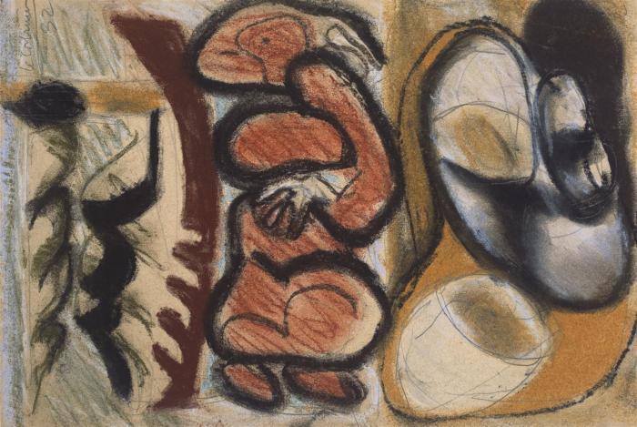 Le Corbusier-Baigneuse-1932