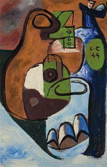 Le Corbusier-Nature morte-1944