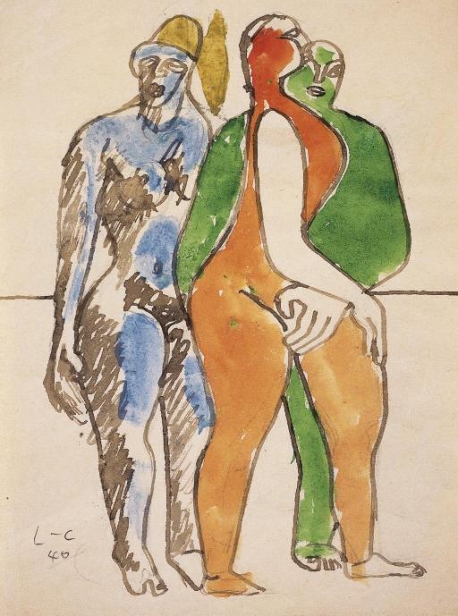 Le Corbusier-Trois nus debout-1940