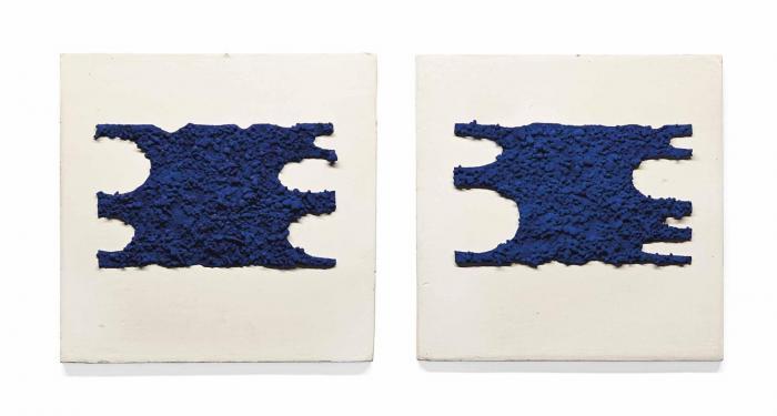 Yves Klein-RE 38 I et RE 38 II-1957