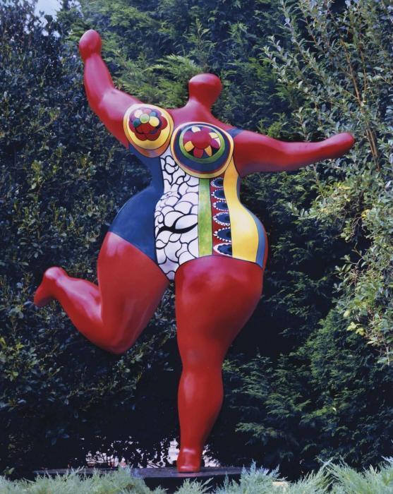 Niki de Saint Phalle-Nana danseuse-1995