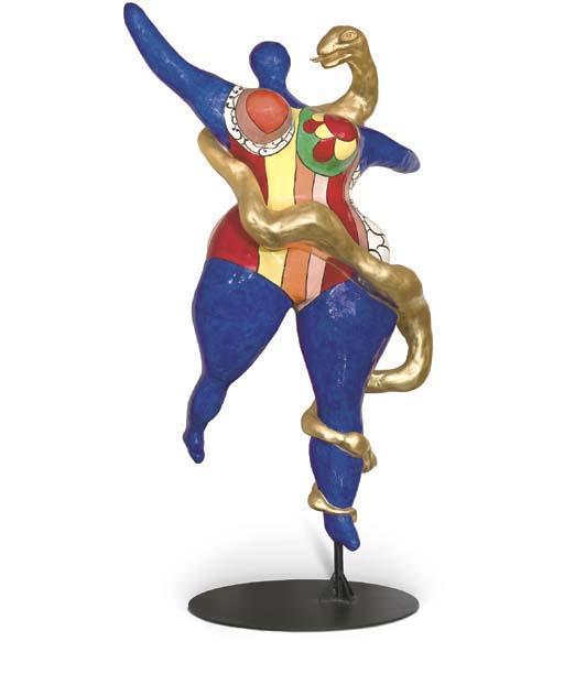 Niki de Saint Phalle-Nana Boa-1983
