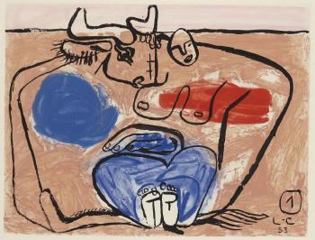 Le Corbusier-Unite, Planche 1-1963