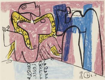 Le Corbusier-Unite, Planche 7-1963