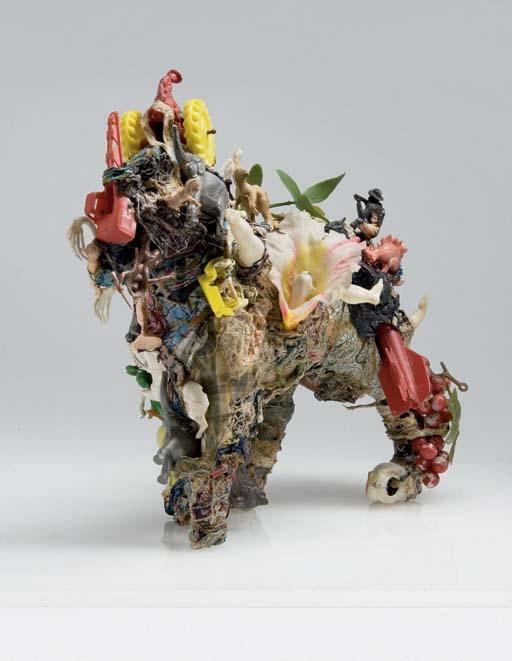 Niki de Saint Phalle-Le petit cheval-1963