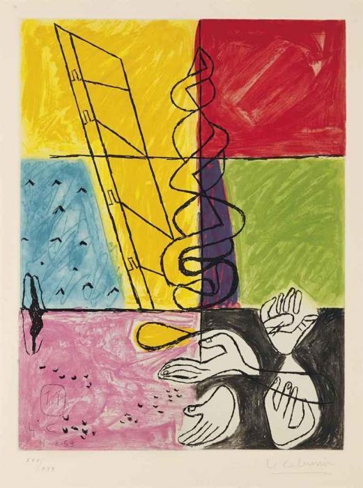 Le Corbusier-Unite, Planche 11-1963