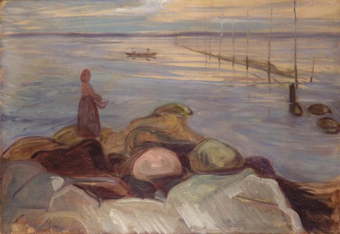 Edvard Munch-Bord de mer-1898