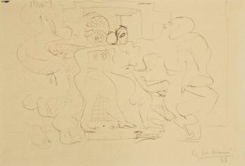 Le Corbusier-Quatre femmes nues-1933
