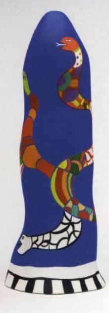 Niki de Saint Phalle-Obelisque au serpent-1987