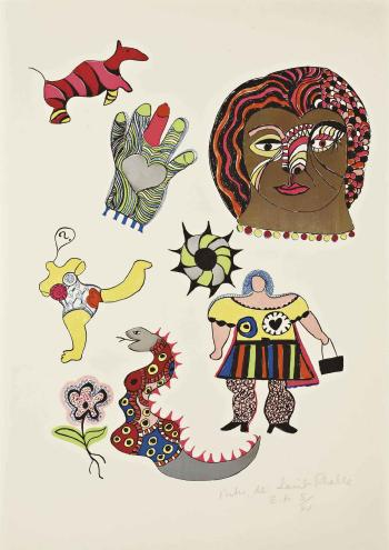 Niki de Saint Phalle-Golden Head-