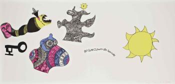 Niki de Saint Phalle-At Last I Found the Treasure-1968