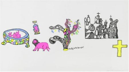 Niki de Saint Phalle-The Key to the Treasure-1968