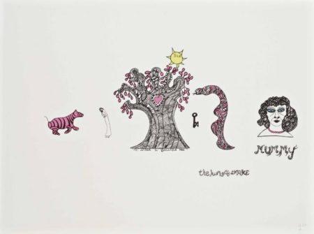 Niki de Saint Phalle-The Hungry Snake-1968