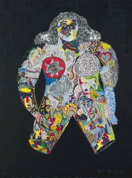 Niki de Saint Phalle-Femme-