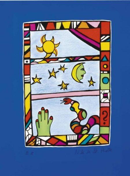 Niki de Saint Phalle-Le Ciel-1987