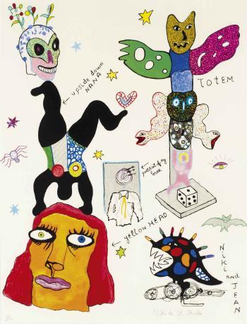 Niki de Saint Phalle-Totem-2001